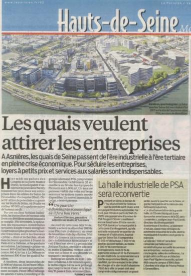 PCA.00- Le Parisien 01.12.2012-PSA Asnières