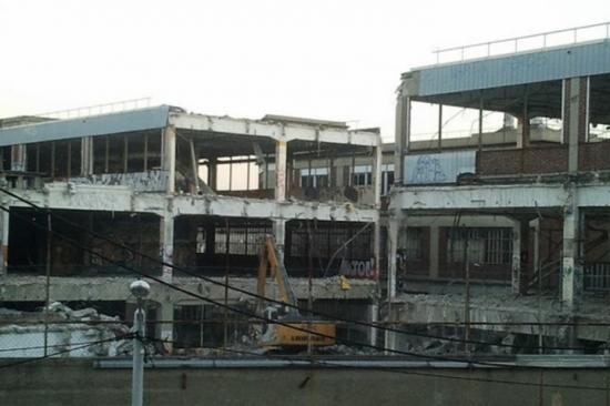 PCA.22- Avancement de travaux de démolition