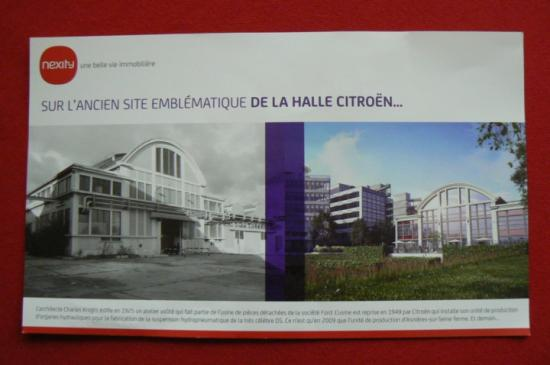 PCA.77- Le Bt.01 ou Halle  Avant & Après